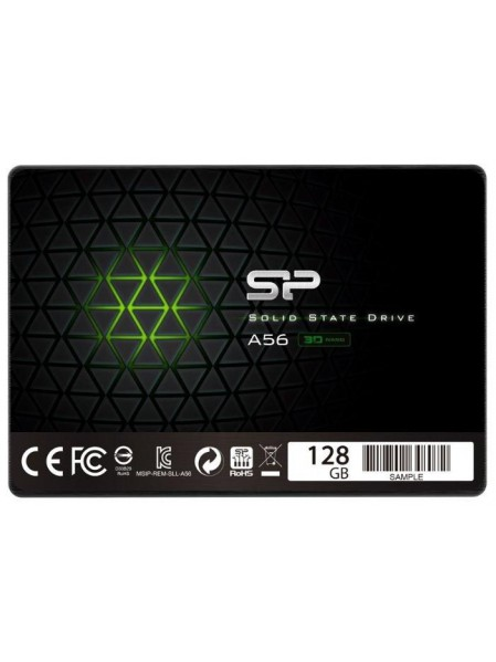 SSD диск Silicon Power Ace A56 (128 Гб (SATA3) 2.5