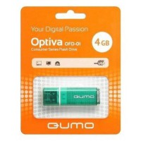 USB flash Qumo Optiva 01,(/4 Гб)-зеленый (QM4GUD-OP1-green)